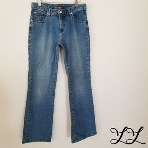 JAG Jeans Western Light Wash Boot Cut Soft Comfort